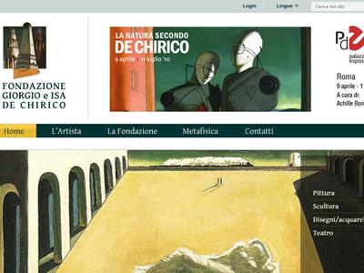 Fondazione De Chirico *proposte